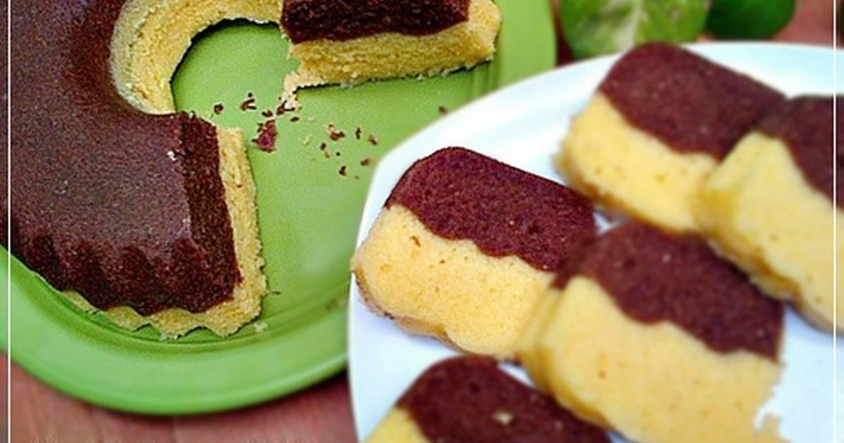 Resep Cake Kukus 2Lapis