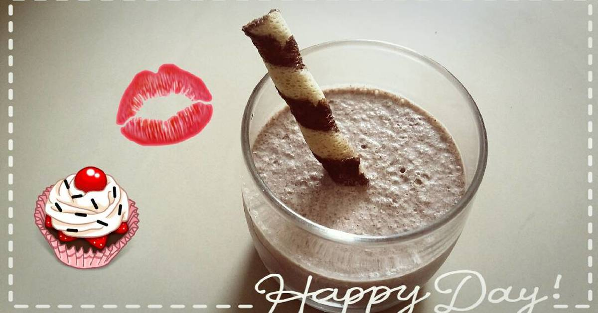 Resep Oreo milkshake