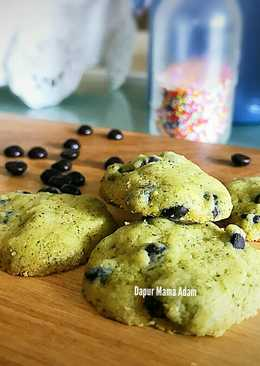 Greentea Chocochips Cookies Renyah Nagih 😆