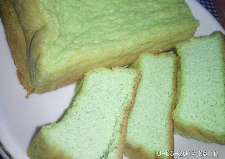 Resep Pandan Chiffon Cake Keto Ekonomis #ketopad Oleh Yuni