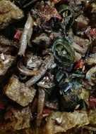 Tahu Teri Lombok Ijo masak magicom
