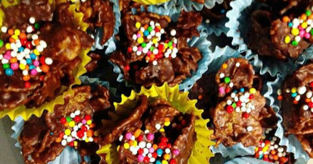Resep Cornflake Coklat