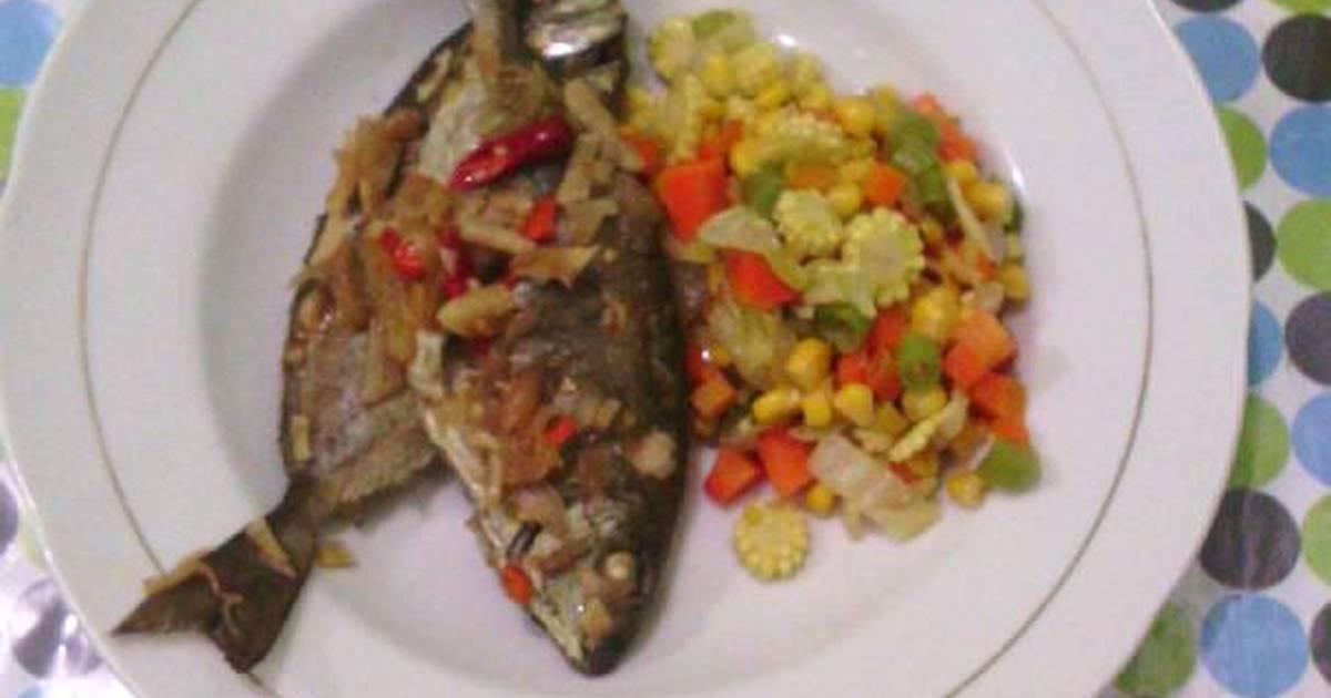 tumis ikan kembung rebus