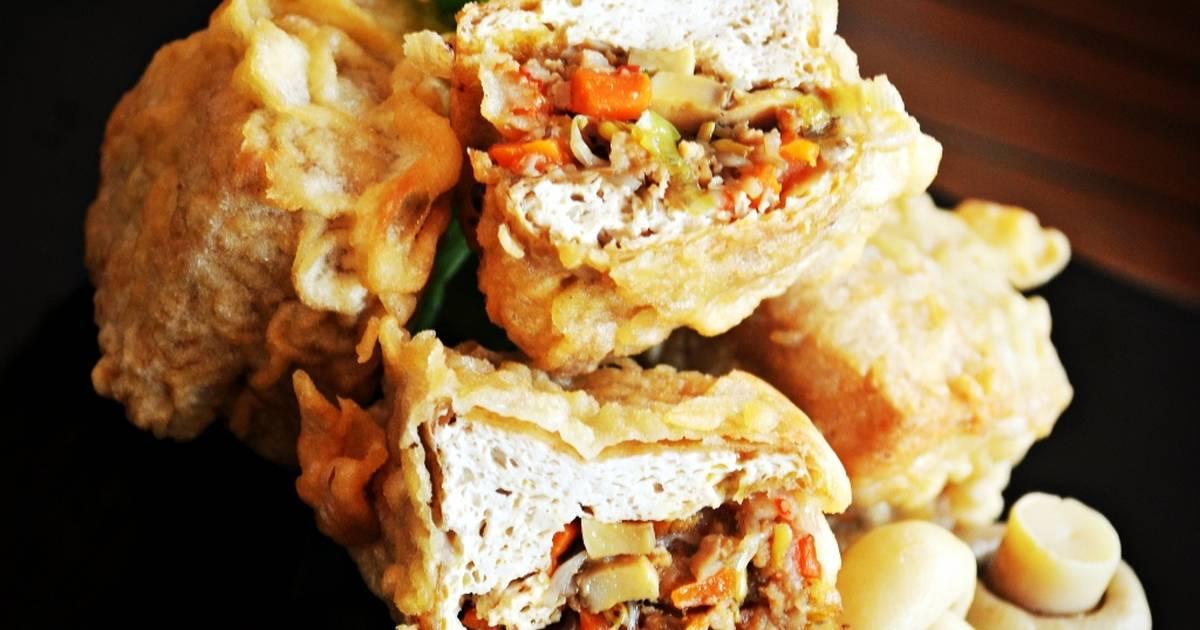 Happy Cooking Resep Membuat Tahu Isi Pedas Jelotot
