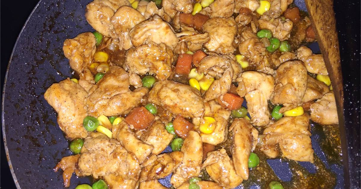 ayam teriyaki saori   136 resep   cookpad