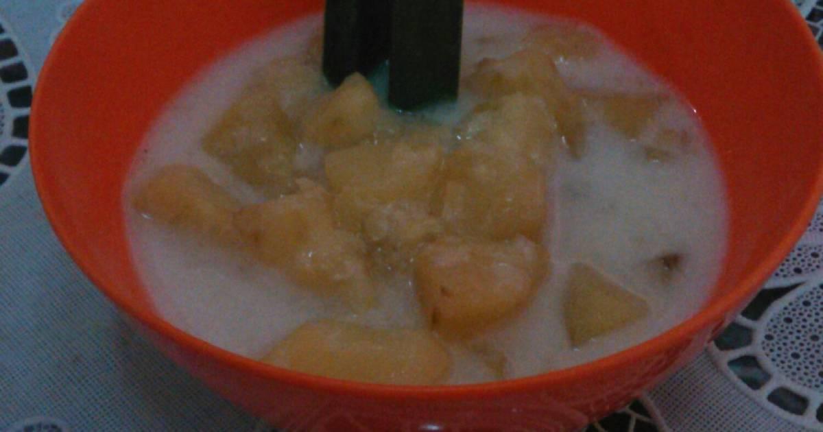 Resep Kolak Ubi (gula putih)