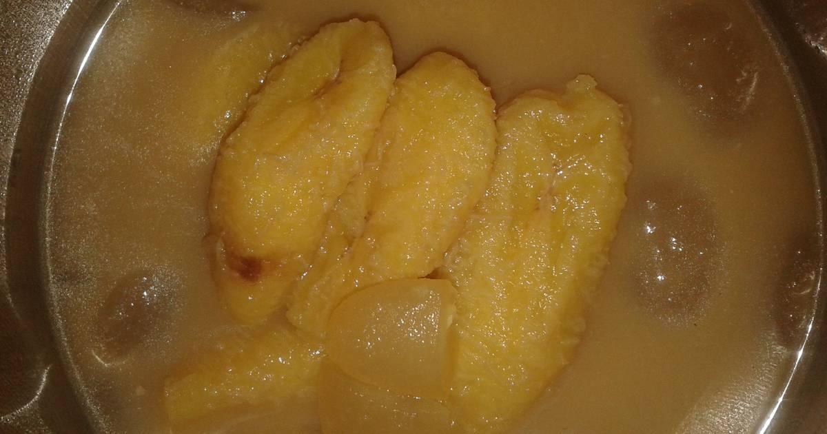 Resep Kolak pisang kolang kaling