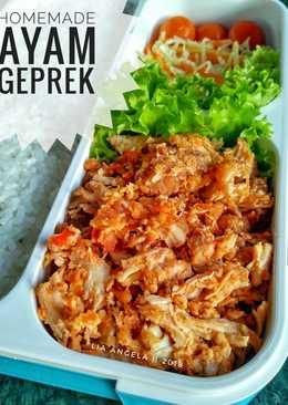 Homemade Ayam Geprek #BikinRamadanBerkesan