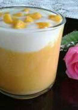 Jus mangga vla vanila #enakanbikinsendiri