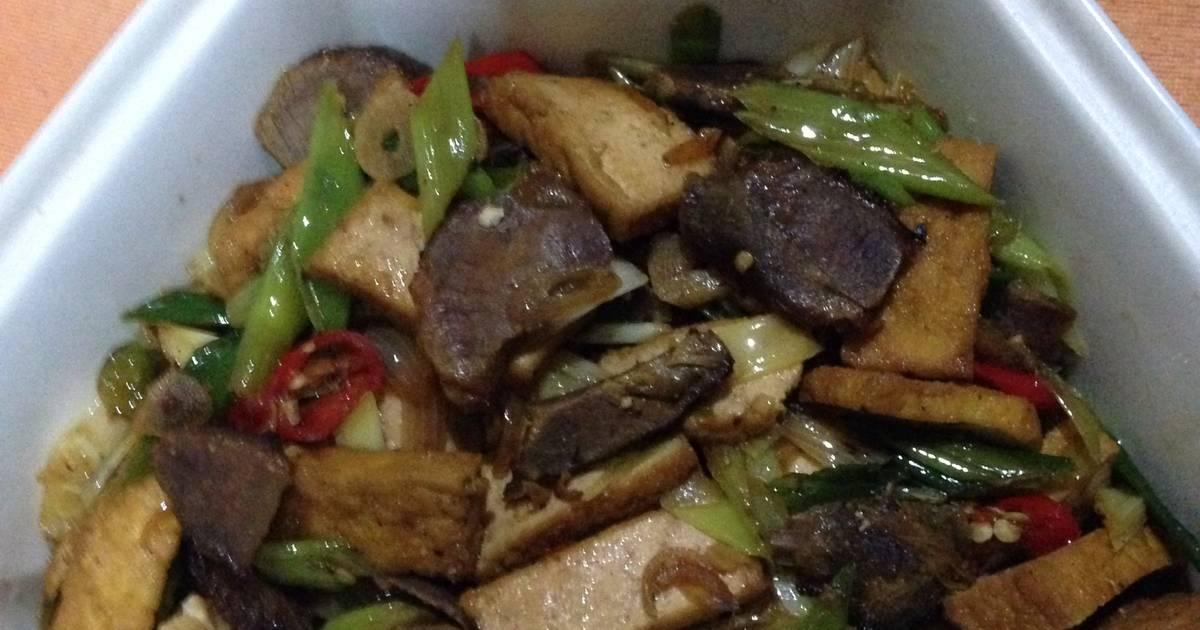 2 resep tumis tahu bumbu rendang enak dan sederhana   cookpad