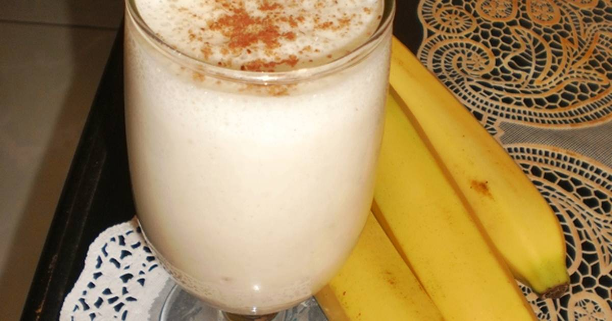 Resep BANANA SMOOTHIES