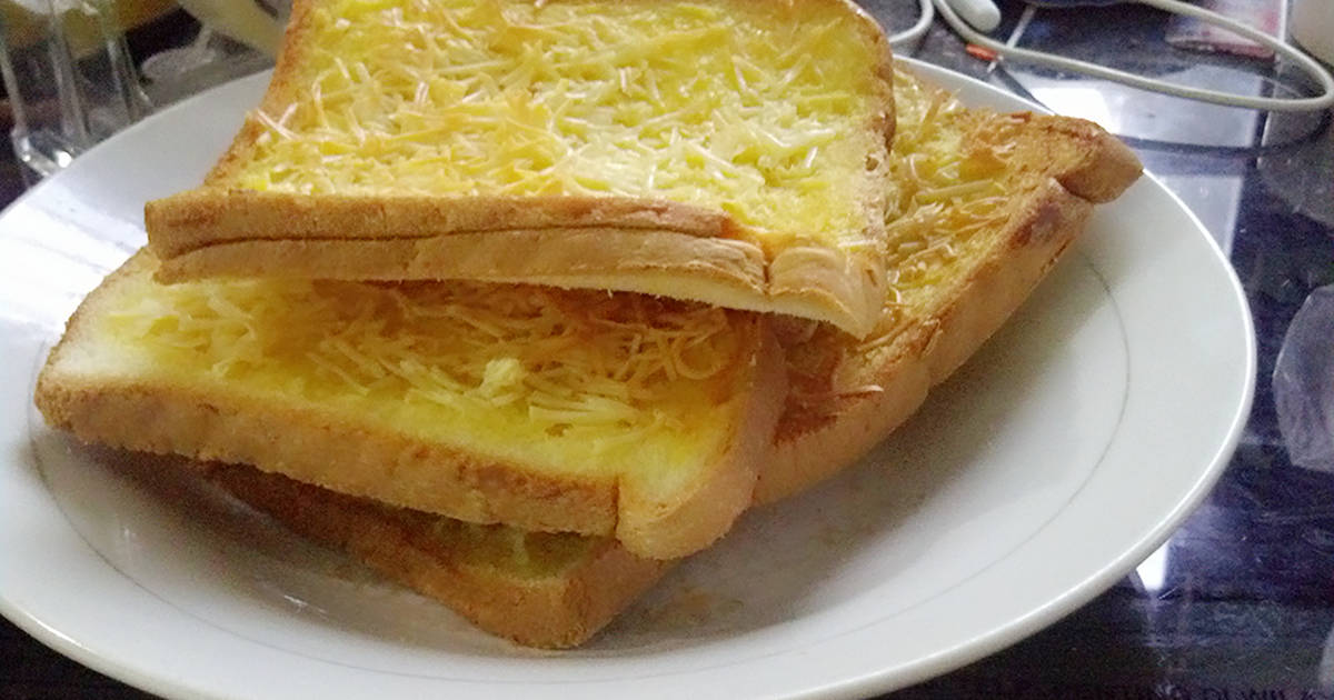 resep roti panggang keju bawang putih oleh indah   cookpad