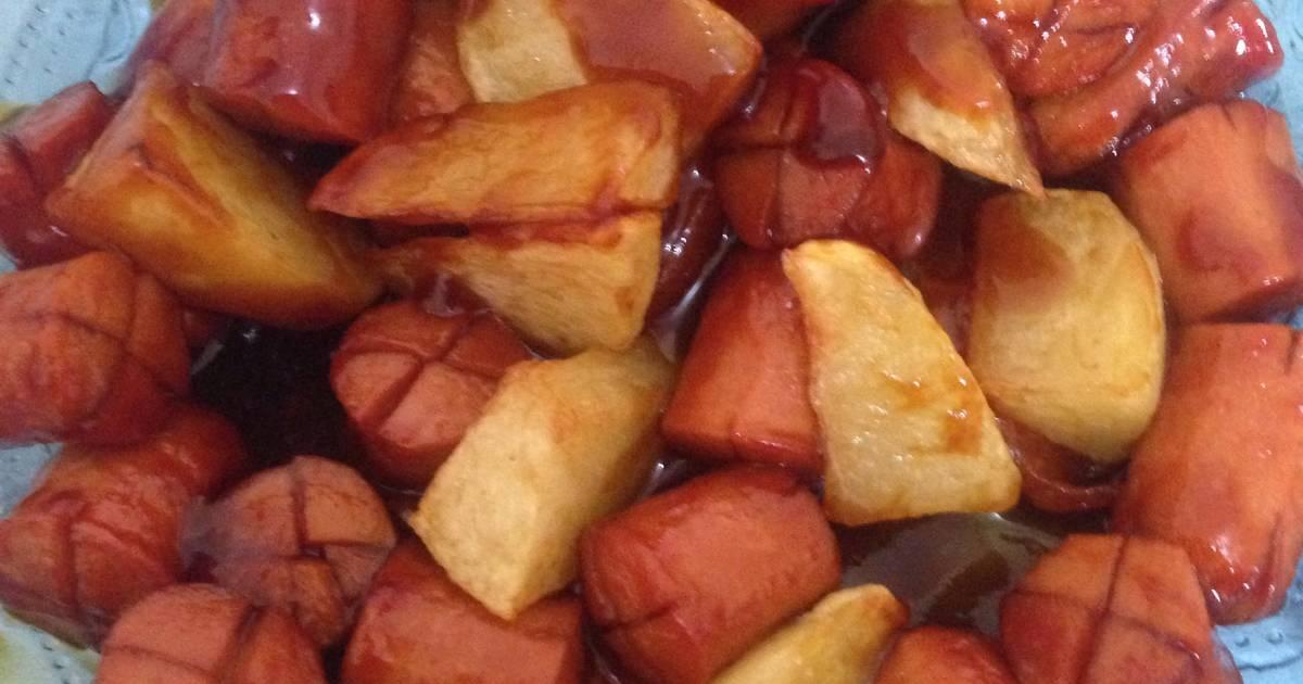 21 resep kentang goreng sosis enak dan sederhana - Cookpad