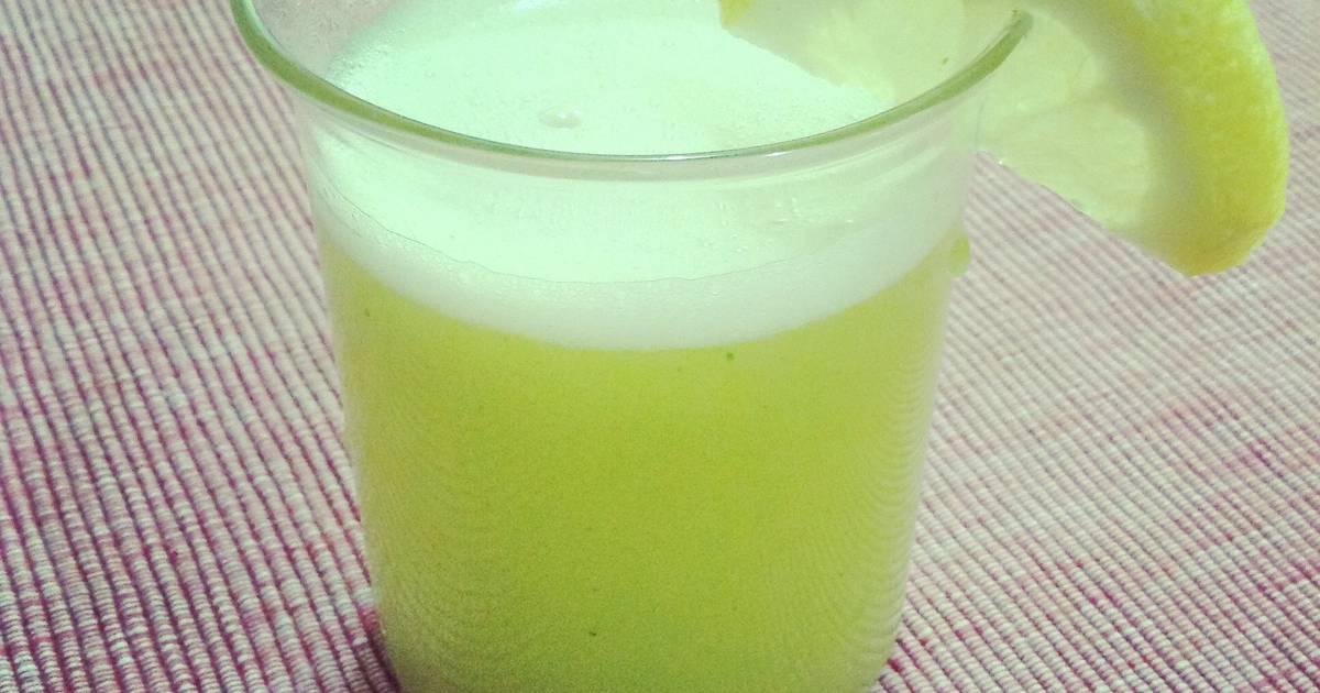 Resep Nenas mint lemon juice