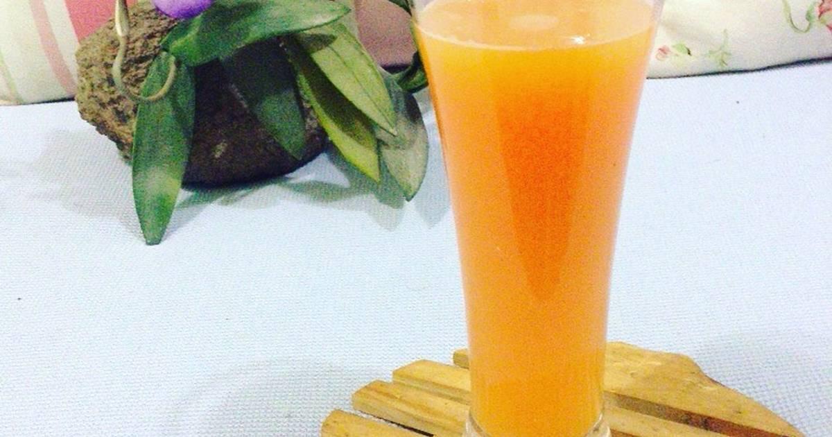 Resep Juice wortel