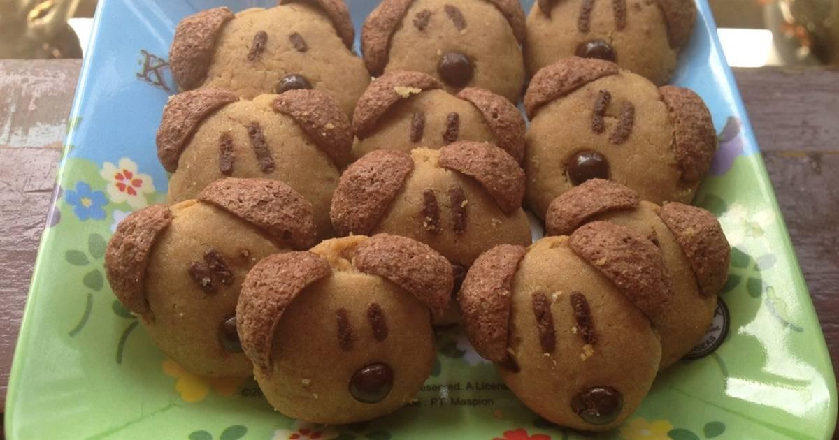 Resep Big Brown Doggie Cookies