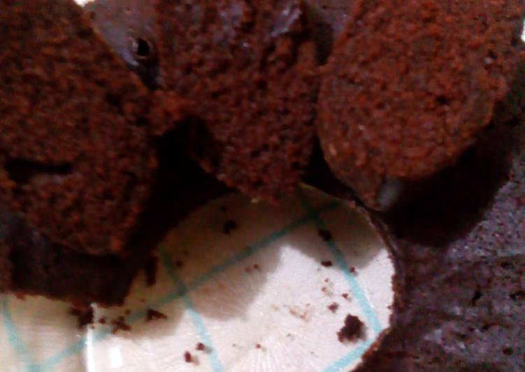 cake coklat tepung beras tanpa telur tanpa mixer