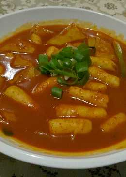 떡복끼 Korean Spicy Rice Cake