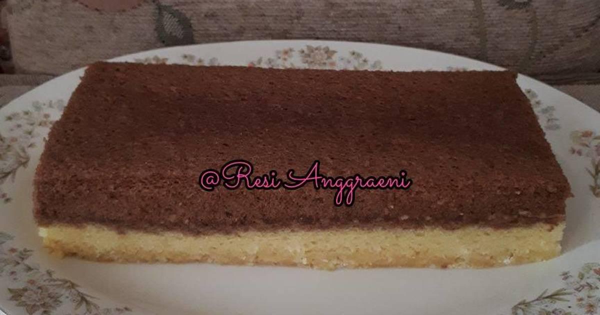 Resep Cake Batik Kukus: Resep Cake Kukus Lapis Coklat Keju Oleh Resi Anggraeni