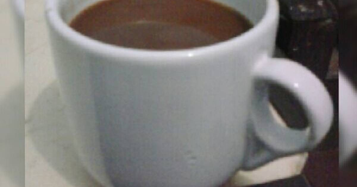 Resep simple hot chocolate