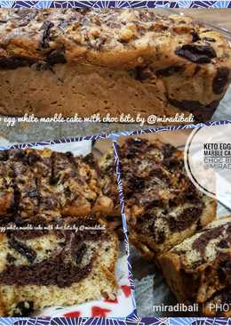 Keto Marble Cake #eggwhite #ketopad #ketobetic #valrhona