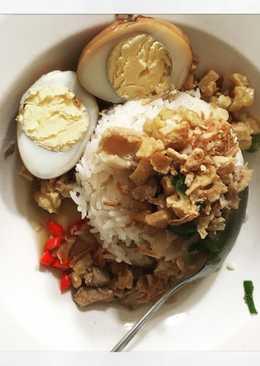 Nasi Bakmoy sederhana