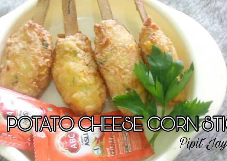 resep masakan  kentang  jagung resep manis masakan indonesia Resepi Sup Nasi Korea Enak dan Mudah