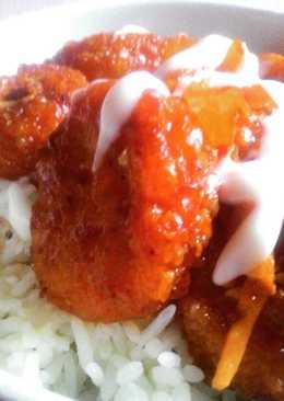 Rice Bowl Chicken Lava