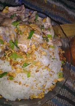 Chicken rice simple magicom