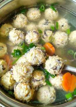 Image result for Sup Bakso Udang Telur Puyuh