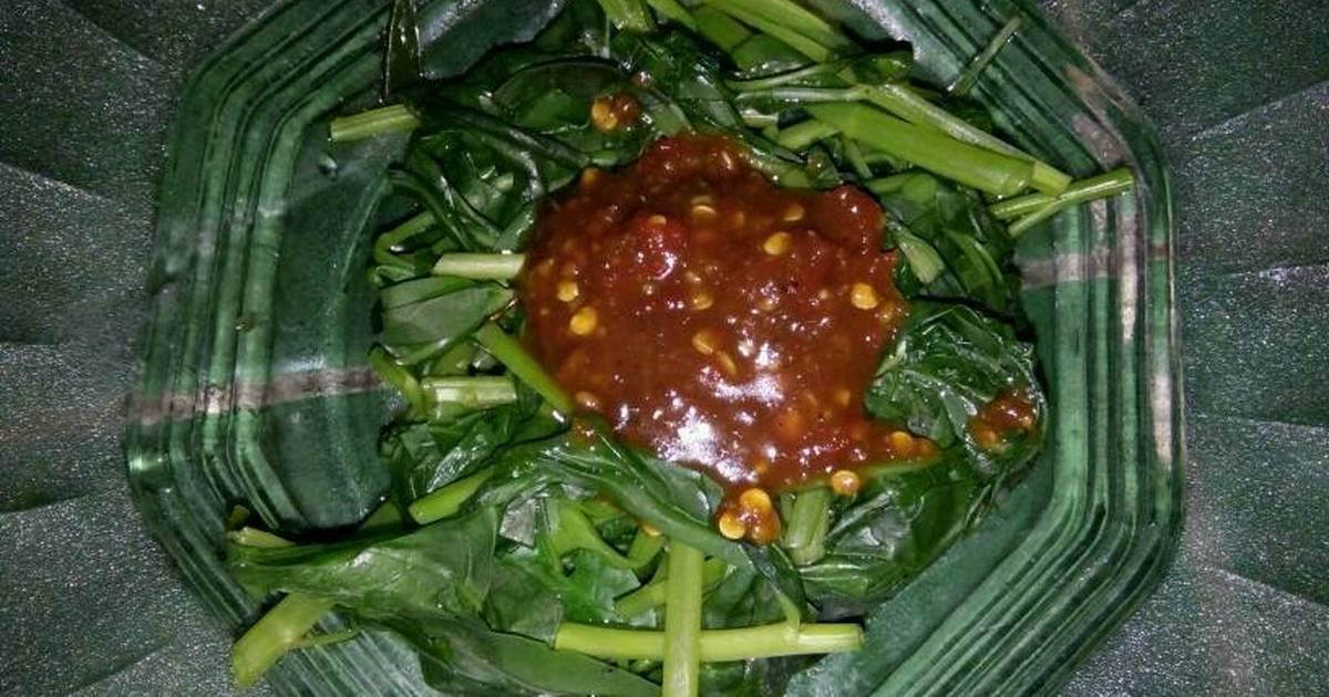 resep plecing kangkung oleh andhini   cookpad