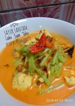 Sayur Santan Labu Siam Tahu 🍲🍥 Simpel, Cepat, Mudah