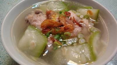 Sup ayam labu air #BikinRamadanBerkesan