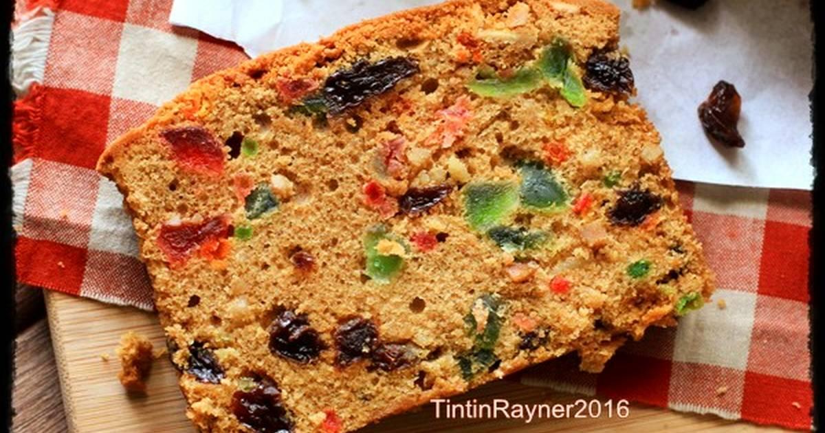 Resep Fruit Cake Jtt: Resep ENGLISH FRUIT CAKE Classic,rich & Delicious Oleh