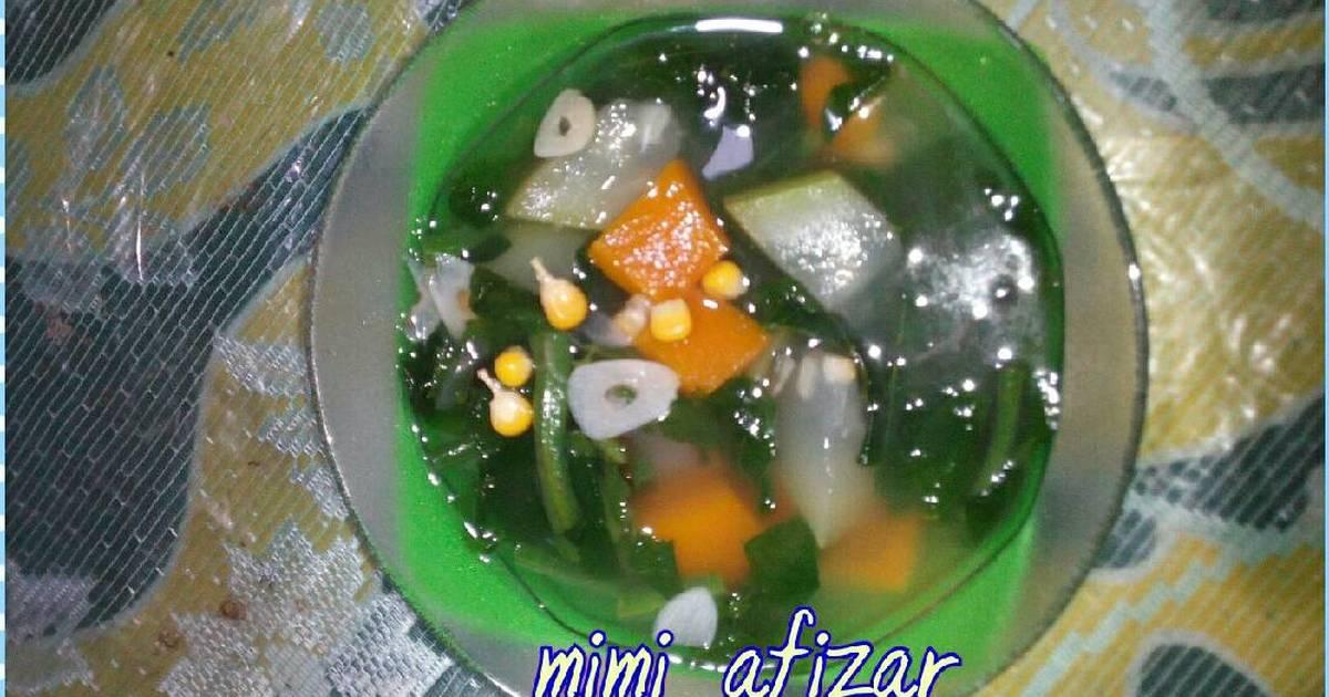 Resep Sayur Bening Kangkung Jagung