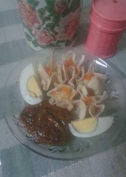169 resep somay ayam bumbu kacang enak dan sederhana   cookpad