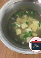 Miso soup ala hokben sederhana #homemadebylita