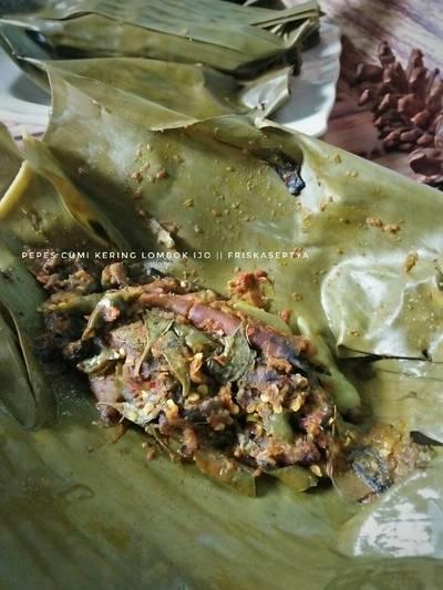 Pepes Cumi Kering Lombok Ijo #Seafoodfestival