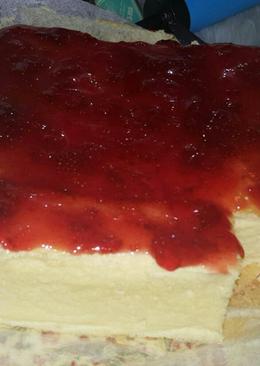 Japanese Cheese Cake (keju oles prochiz)