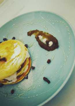 Pluffy Pancake Strawberry Kurma