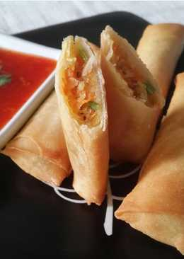 Chinese Spring Roll with Ngo Hiong Herbs