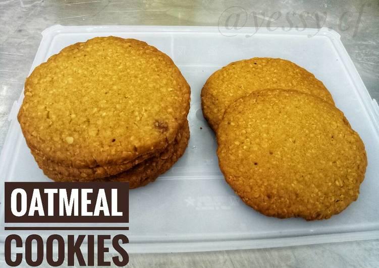 Oatmeal Cookies - Kukis Oatmeal