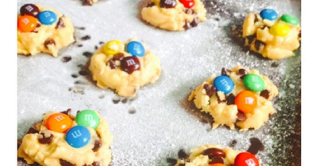 Resep Chocochips X MnM's Cookies