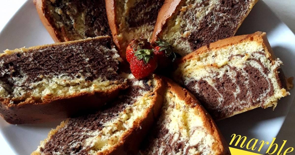 Resep Cake Jadul Enak: 1.355 Resep Cake Marmer Lembut Enak Dan Sederhana
