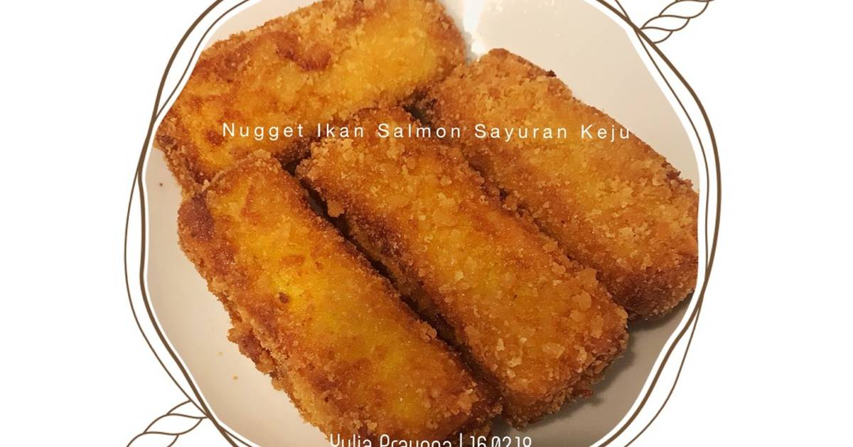 9 Resep Nugget Ikan Salmon Enak Dan Sederhana Cookpad