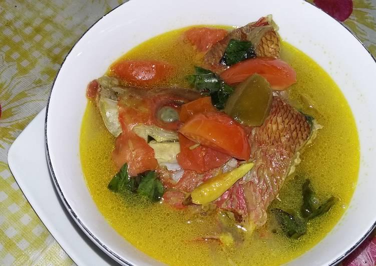 Image result for Sup Kepala Ikan Kuah Asam