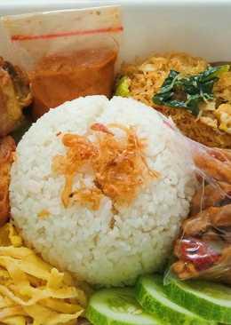 Nasi uduk ricecooker maknyus