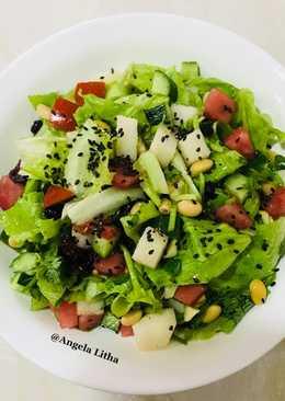 Salad sayur & buah