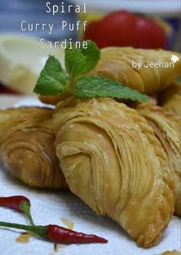 Spiral Curry puff Sardine