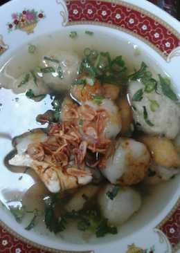 Baso malang vegie (gak pake daging)